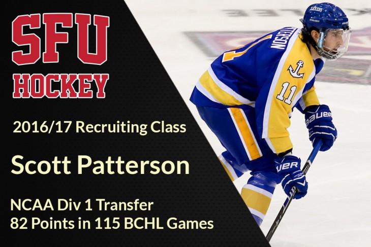 Recruit Scott Patterson