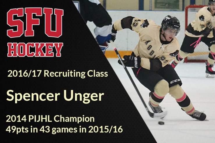 Spencer Unger Commits to SFU