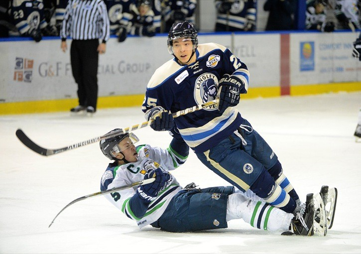 Langley Rivermen goal scoring leader Trevor Ayre joins 2019 recruiting class