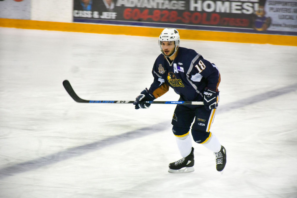 Delta Ice Hawks top scorer Daniel Rubin joins SFU for 2019/20