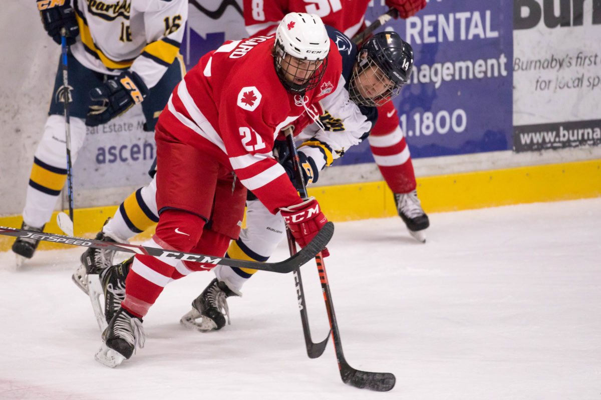 SFU wins 3-2 over TWU to stay in race for second place