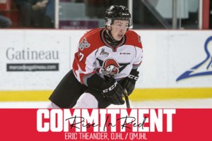 Recruit Announcement: Eric Theander
