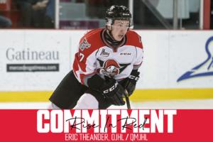 Recruit Announcement: Eric Theander
