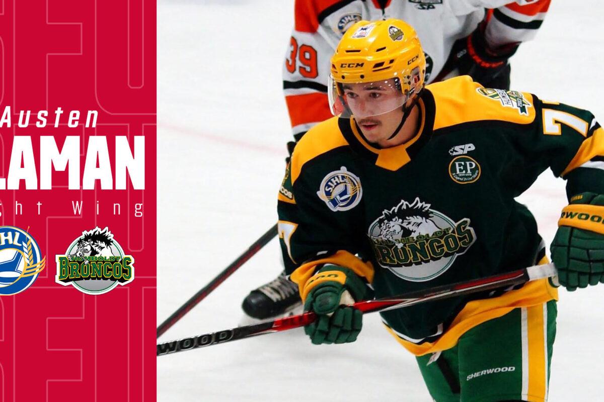SFU Announces Commitment from Austen Flaman (Humboldt Broncos, SJHL)