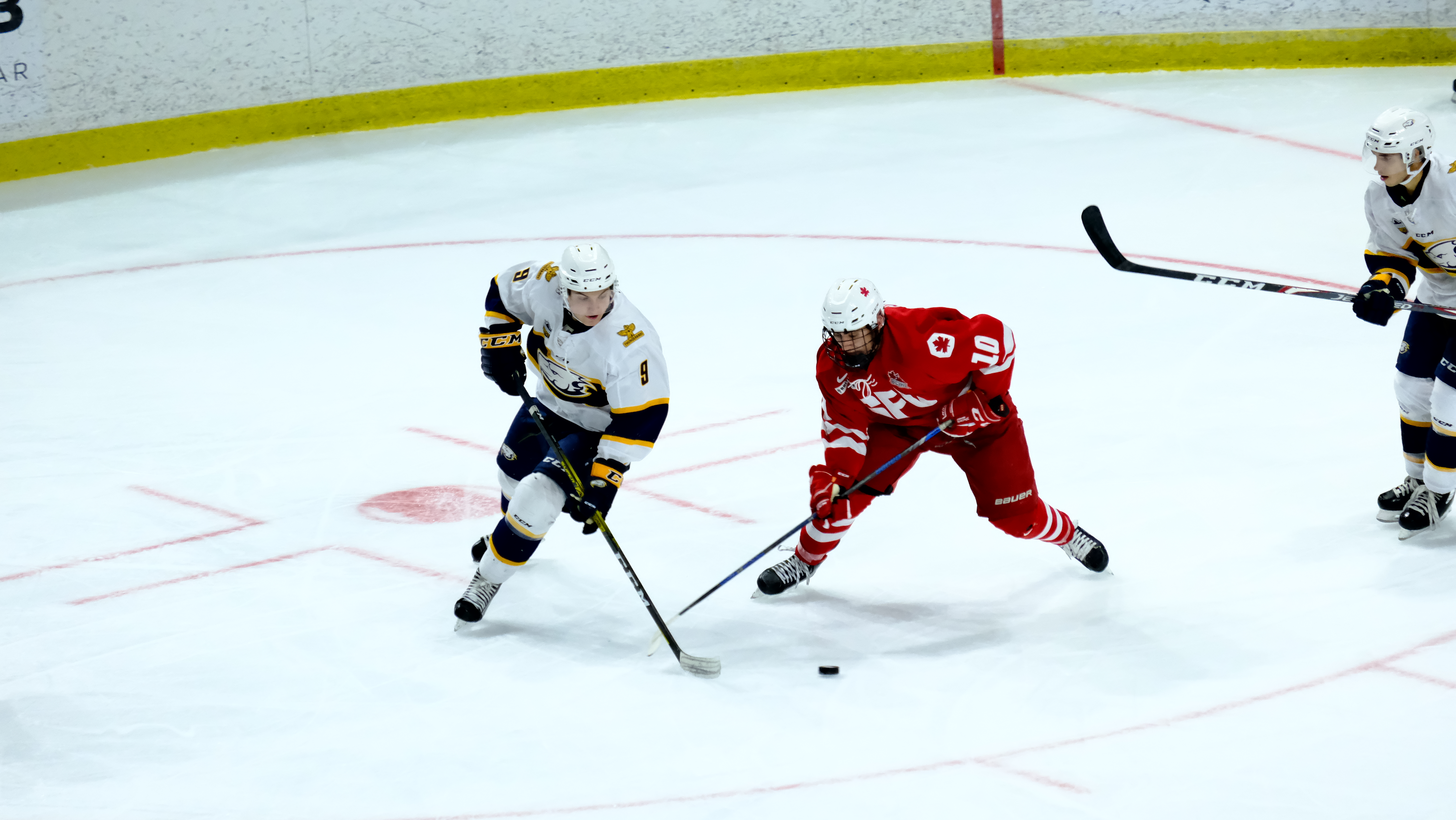 SFU drops first game of the Captains Cup Round Robin to UBC