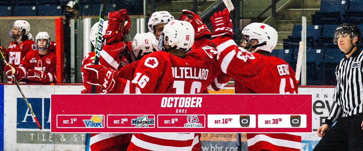 October Preview | Captains Cup Resumes; Regular Season Begins